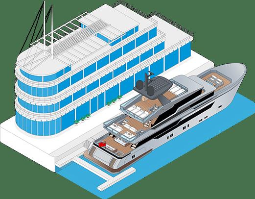 Entretien et remise en état de yacht Régions Paca Languedoc-Roussillon Midi-Pyrénées