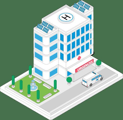 Nettoyage établissements de santé Aix-en-Provence, Marseille, Nice
