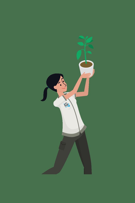 Développement durable et écologie IGS Propreté